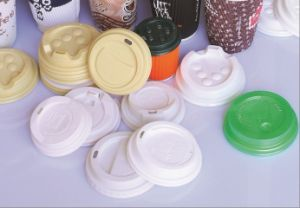 Automatic Plastic Lids Thermoforming Machine pictures & photos