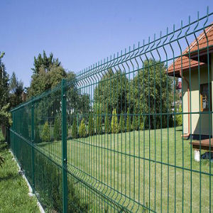 Powder Coated Ral6005 Welded Wire Mesh Fence for Garden pictures & photos