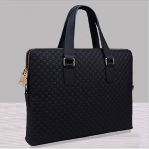 Wholesale Custom Standard Size Genuine Leather Bag pictures & photos