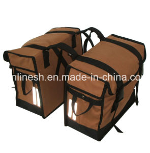 40L Double Canvas Panniers /Travel Bags for Cycling Bikes/Bicycle/Electric Bicycle/Pedelec/E Bike pictures & photos