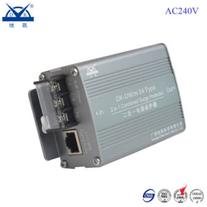 Aluminium Alloy HD Monitoring System Network Camera Surge Protection Device pictures & photos