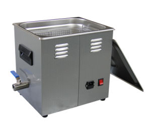 Tense Smaller Tank Ultrasonic Cleaning Machine Doule Frequency and Power (TSX-180SS) pictures & photos