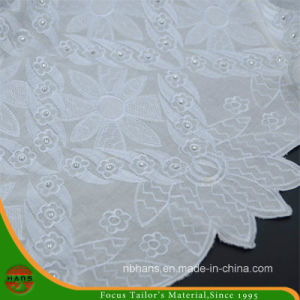 Embroidery Cotton Fabric for Garment (HAEF160010) pictures & photos