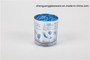 Free Sample Candle Holder Glass Cup Festival Gift Home Decoration Candlestick pictures & photos
