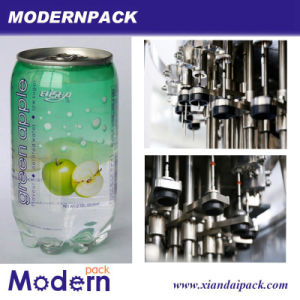 Plastic Can Carbonated Beverage 310ml Juice Drinks Filling Machinery pictures & photos