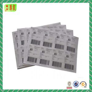 Printed Paper Adhesive Barcode Label Sticker pictures & photos