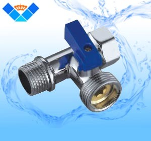 Three-Way Ahgle Valve