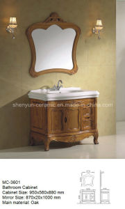 Furniture Bathroom Furniture Bathroom Cabinet with Wash Basin (MC-3601) pictures & photos