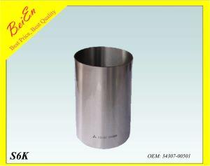 Cylinder Liner for Excavator Engine S6k (Part number: 34307-00501) pictures & photos