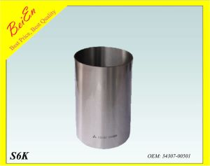 Cylinder Liner for Excavator Engine S6kt/D04fr (Part number: 34307-00501) pictures & photos