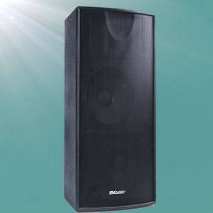 Dual 15inch Stage Sound Professional Speaker (F215) pictures & photos