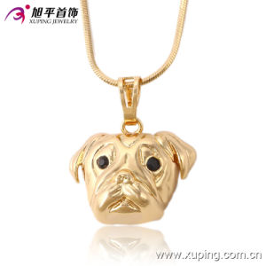 Fashion CZ Elegant 18k Gold-Plated Animals Shape Series Imitation Jewelry Necklace Pendant-32522 pictures & photos