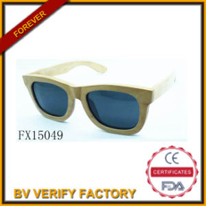 Alibaba Trade Assurance Wooden Sunglasses (FX15049) pictures & photos