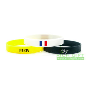 2016 Custom Silicone Wristband for Basketball Competition pictures & photos