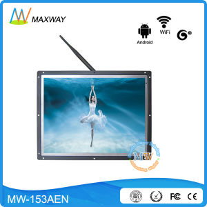 Open Frame Network Android 15 Inch 4: 3 LCD Advertising Display pictures & photos