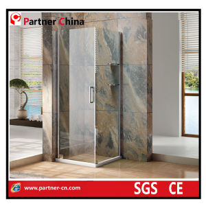 Hotel Shower Enclosure with Stainless Steel Frame (MZ1221) pictures & photos