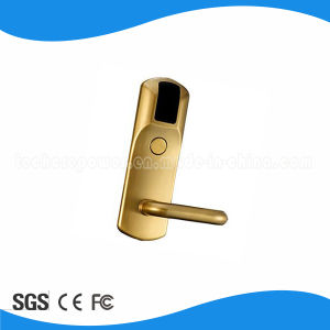 Security Hotel Door Lock L718-M pictures & photos