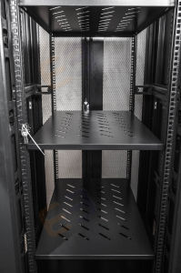 Server Cabinet with Front Hexagonal Perforated Door pictures & photos