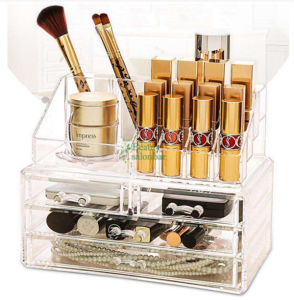 Wholesale Acrylic Countertop Cosmetic Makeup Tower Showcase pictures & photos