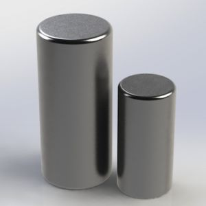 Sintered Permanent Rare Earth Rod Neodymium Magnets pictures & photos