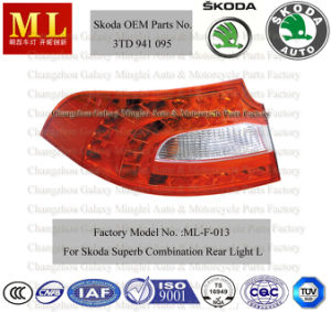 Auto Combination Rearlight for Skoda Superb From 2008 (3TD 945 095) pictures & photos