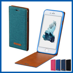 up and Down Flip Leather Case Cover for iPhone 6s pictures & photos
