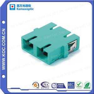 Sc Optical Fiber Duplex Adapter pictures & photos