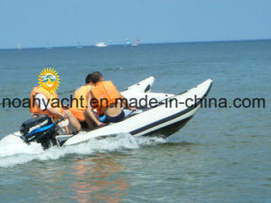 Wholesale 0.9mm PVC Cheap High Speed Inflatable Boat Speed Cat pictures & photos