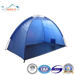 UV Protetion Ventilation Simple Outdoor Beach Tent pictures & photos