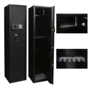 Gun Safe Box, Rifle Box, Metal Safe Box