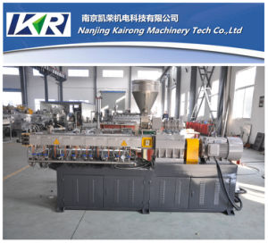 Nanjing Pet Plastic Recycling Granules Making Machine and Plastic Extruder Price pictures & photos