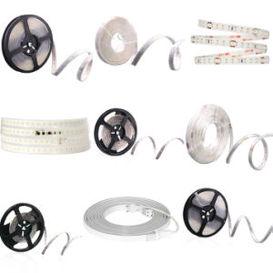 High-Voltage 2835 PU Glue Potted Flexible LED Strip Light with Ce RoHS pictures & photos