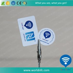 ISO14443A Custom Cheap Ntag213 RFID NFC Paper Sticker pictures & photos