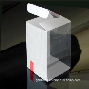 Clear Printing Plastic Box for Earphones (PP 014) pictures & photos