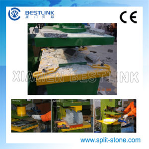 Mutifuctional Stone Leftover Recycling Hydraulic Stone Stamping Machine pictures & photos