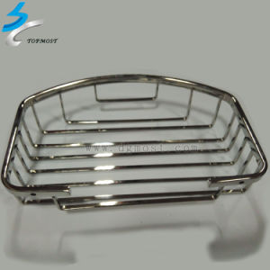 304 Stainless Steel Hardware Metal Bathroom Basket Shelf pictures & photos