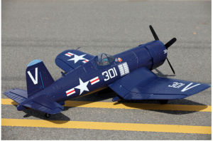 F4u 2.4G 12CH Adjustable Pitch Propeller RC Plane pictures & photos