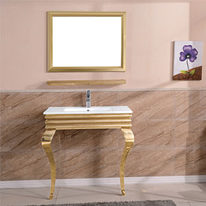 Cheap Stainless Steel Bathroom Cabinet / Asian Style Bathroom Vanity pictures & photos