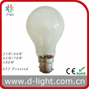 A55 Frosted B22 Edison Bulb 25W 45W 60W 75W 100W pictures & photos
