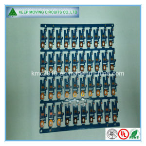 OSP 2 Layer Fr4 Circuit PCB Board with Blue Soldermask pictures & photos