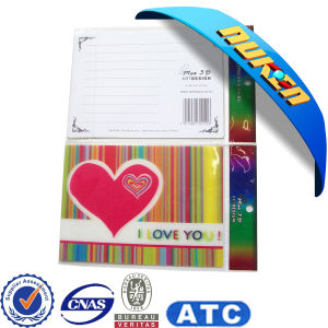Wholesale Manufacture Printed Make 3D Greeting Cards pictures & photos