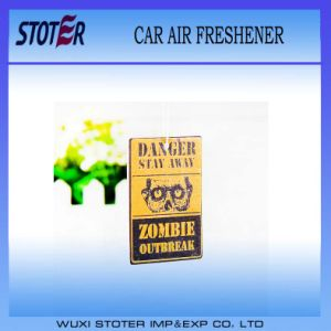 Eco-Friendly Customized Shape Car Air Fresheners with Own Logo pictures & photos