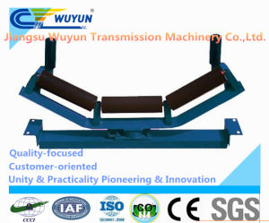 Conveyor Taper Self-Aligning Steel Belt Conveyor Roller Idler System pictures & photos