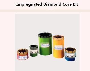 Impregnated Diamond Core Bits Aq Bq Nq Hq Pq pictures & photos