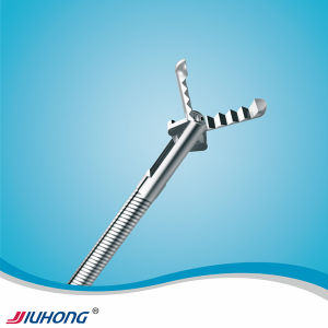 Jiuhong Disposable Grasping Forceps with Alligator Teeth pictures & photos