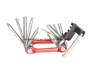 Mini Outdoor 12PCS Bicycle Repair Tool for Bike (HBT-010) pictures & photos