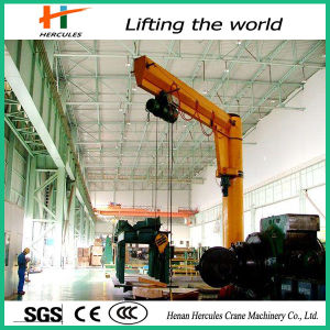 High Quality Slewing Jib Crane with Wire Rope Hoist pictures & photos