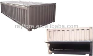 Open Top Container with Hard Top (half height) Sales in China pictures & photos