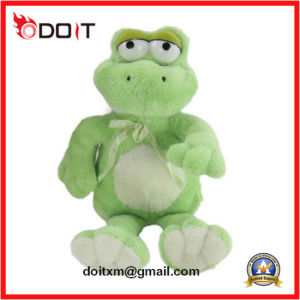 Green Plush Toy Frog Animal Toys Plush Frog pictures & photos