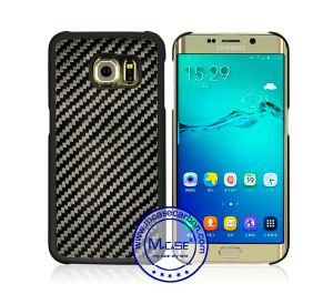 Carbon Fiber Rubberized PC Material Smartphone Case for Samsung S6 Edge pictures & photos